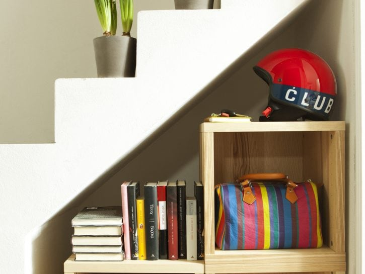 Salvaspazio: libreria fai da te