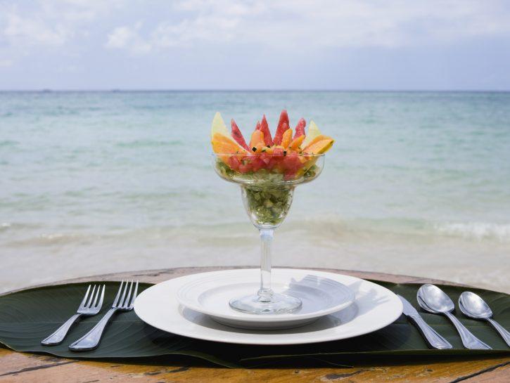 I cibi sani da spiaggia