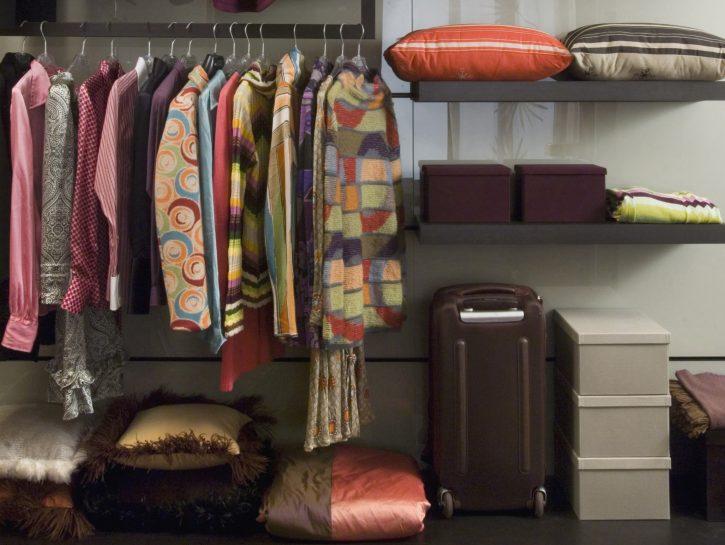 6 idee per sistemare la cabina armadio