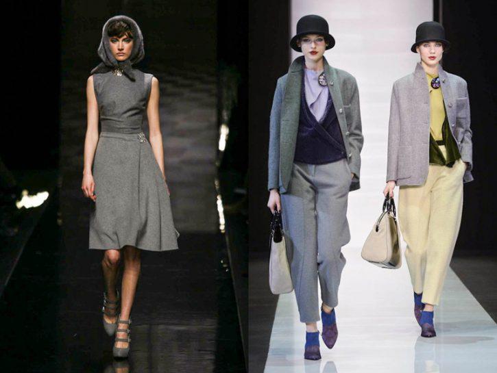 Moda: l'eleganza del grigio
