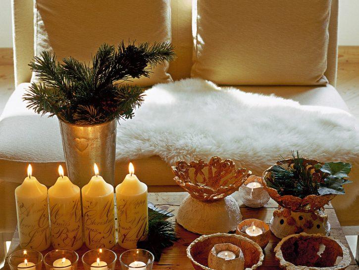 Decorare casa fai da te: candele