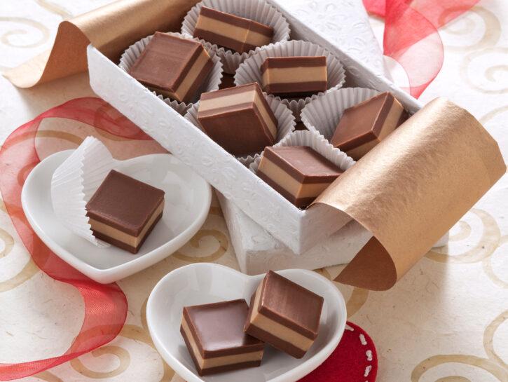 Cremini ai due cioccolati