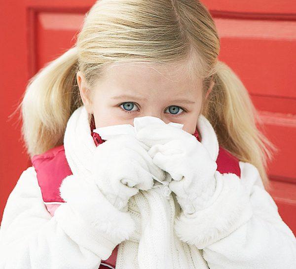 Curare il raffreddore dei bambini