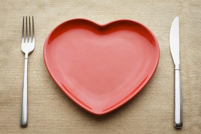 A dieta a San Valentino