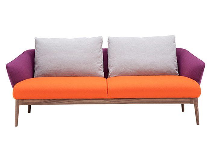 Un divano in stile nordico