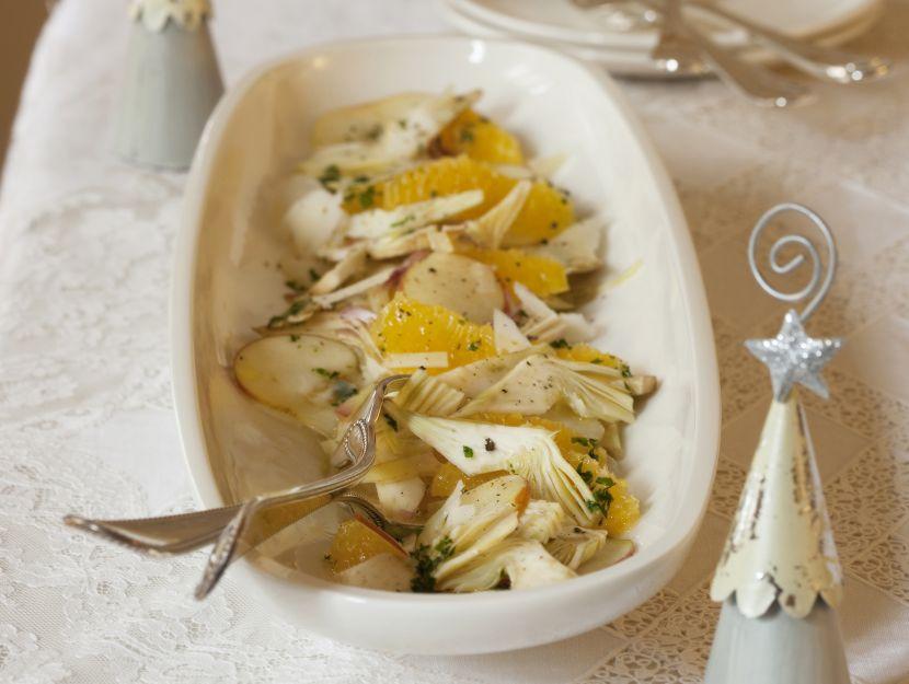 insalata-di-carciofi-mela-e-arancia
