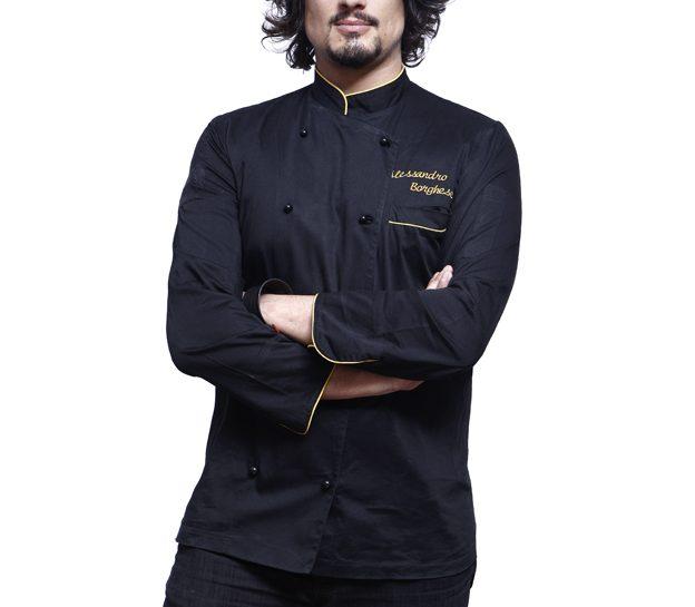 Lo chef Alessandro Borghese