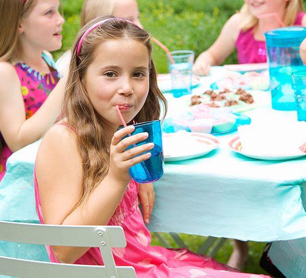 Festa per bambini in giardino