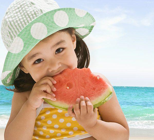 Alimentazione dei bambini in vacanza