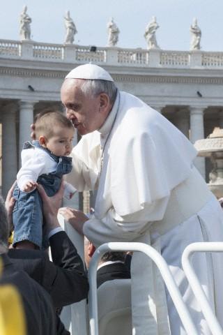 Pope Francesco in Saint Peter's square