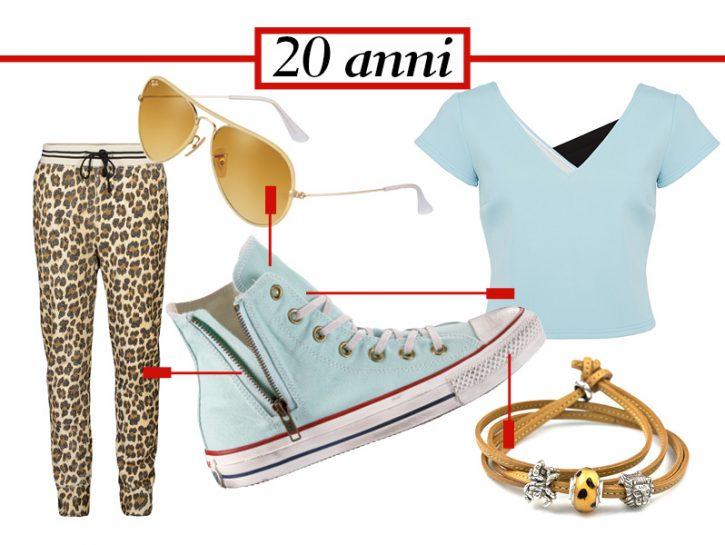 A 20 ANNI SNEAKERS E LEGGINGSRimani fedele allo stile teen e parti da un cult: la sneaker alta colo