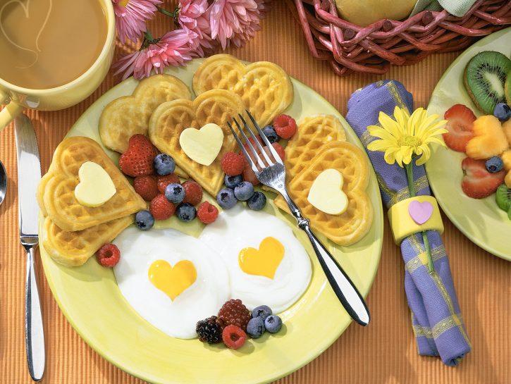 Coppia: colazione