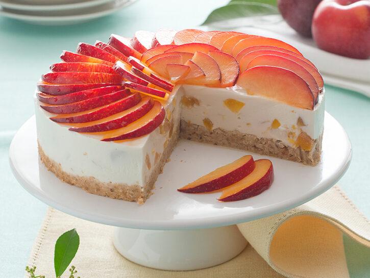 Cheesecake cruda alla frutta