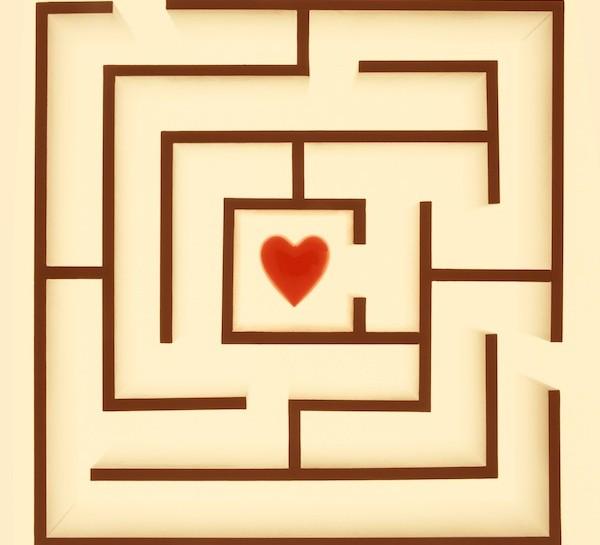 labirinto cuore amore