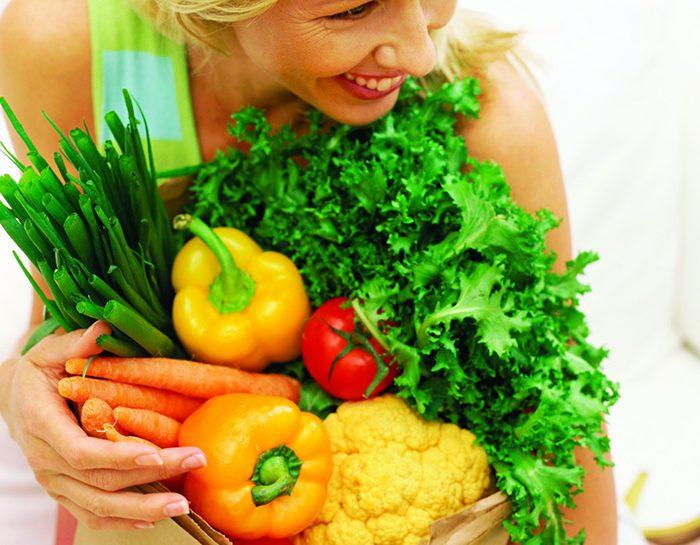 frutta e verdura fuori dal frigo