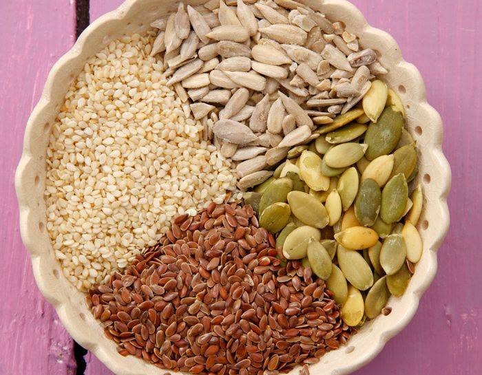 Le proprietà dei semi per la salute