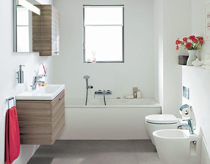 mini spazio in bagno