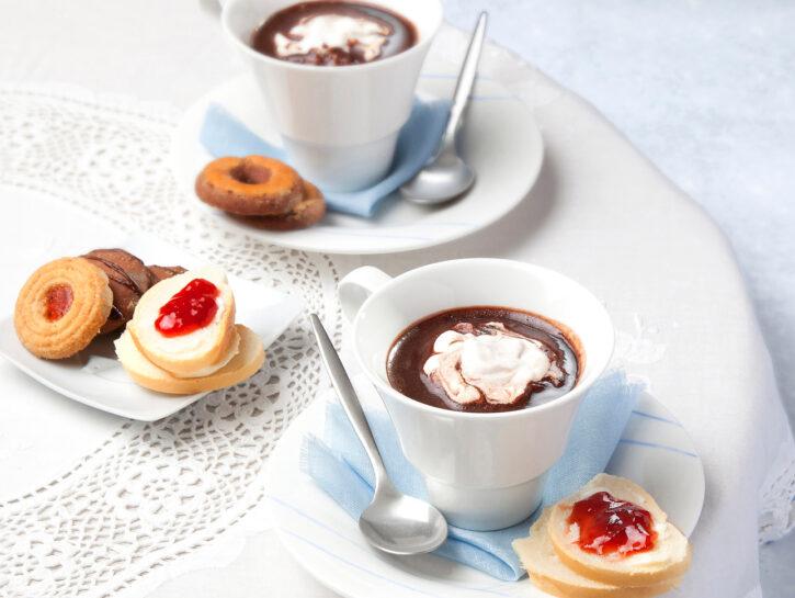 Cioccolata calda ricetta base