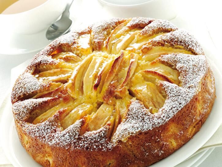 Torta di mele al Calvados