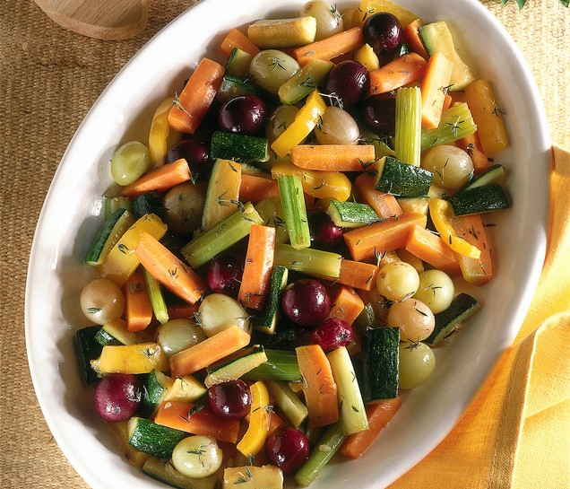 Verdure glassate