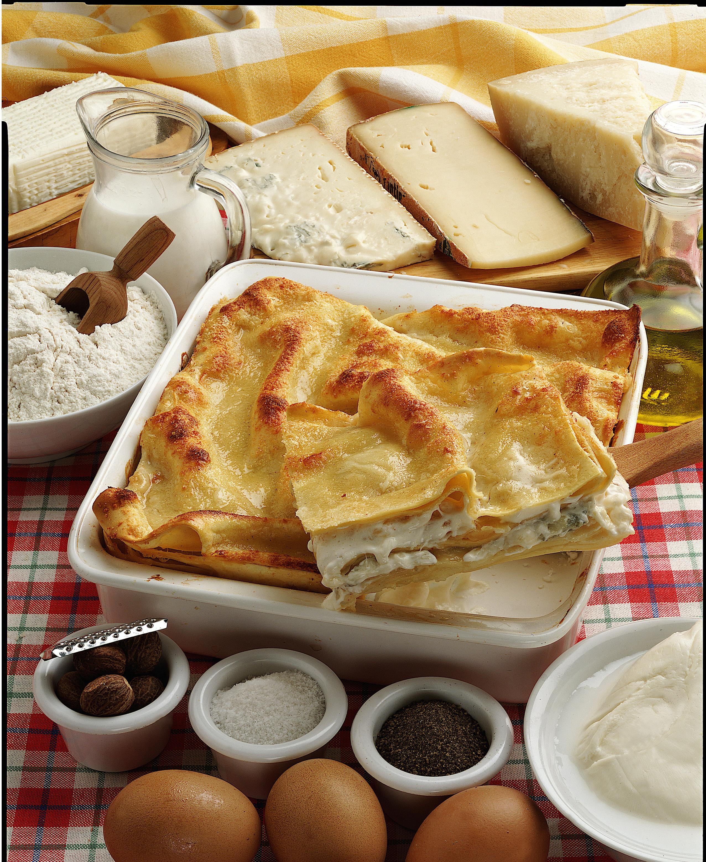 Ricetta Delle Lasagne Ai Quattro Formaggi.Ricetta Lasagne Ai Quattro Formaggi Donna Moderna