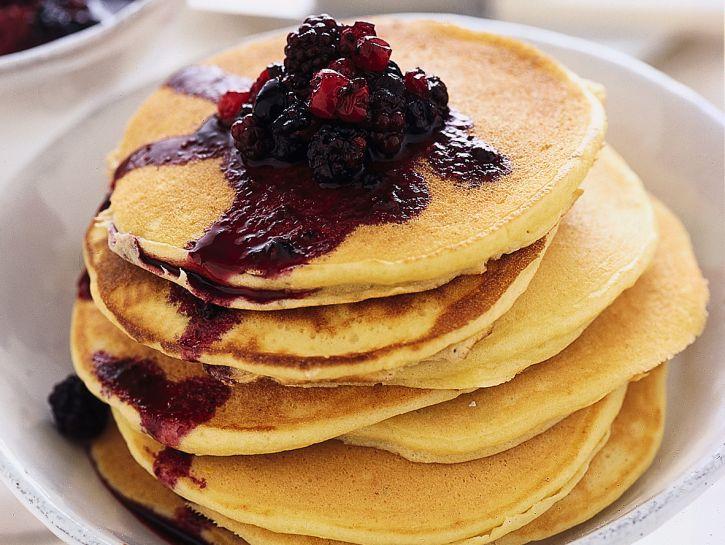pancakes-ai-frutti-rossi ricetta