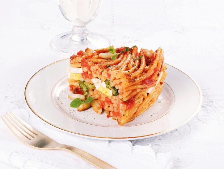 Pasta 'ncasciata o incaciata alla messinese