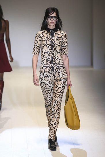 Gucci: stampa leopardo