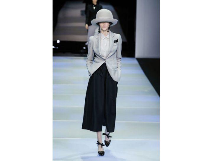 Emporio Armani: grigio e nero