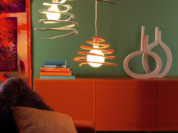 Lampada fai da te: idee design