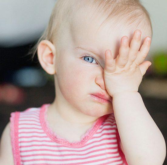 Bambini e problemi agli occhi