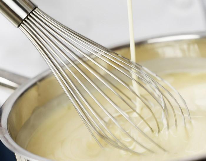 La ricetta della besciamella light