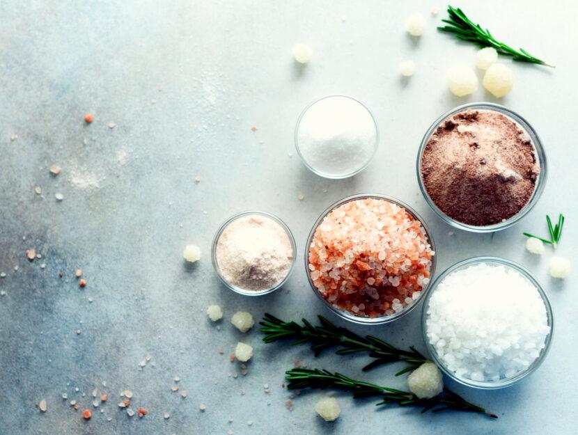 Curarsi con il sale