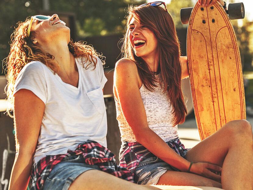 i benefici della risata