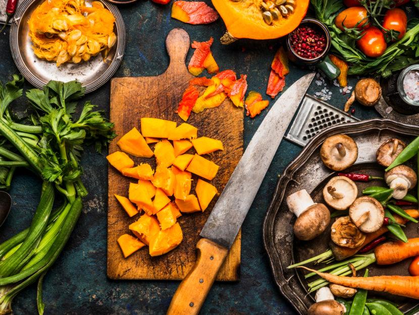 la dieta dell'autunno