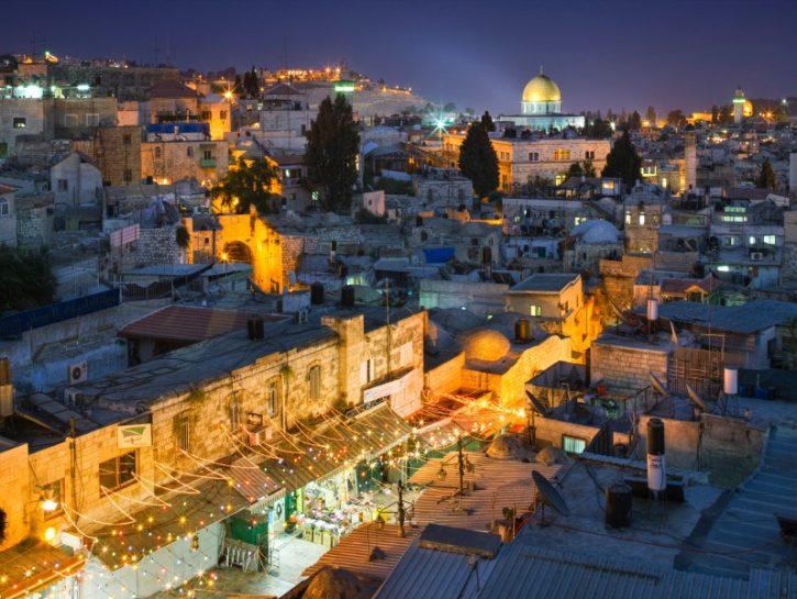 Gerusalemme by night