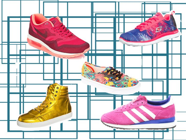 Sneakers colorate
