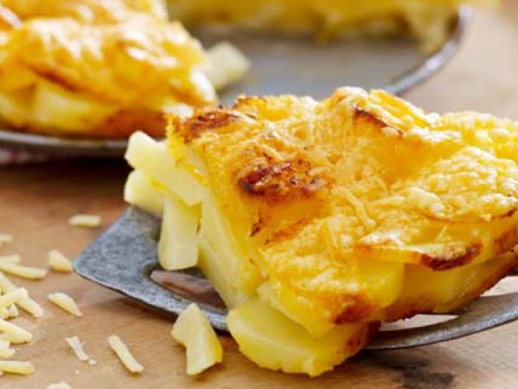 Immagine patate al gratin