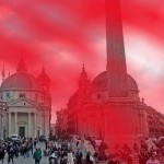 Roma, Piazza del Popolo si colorerà di rosso