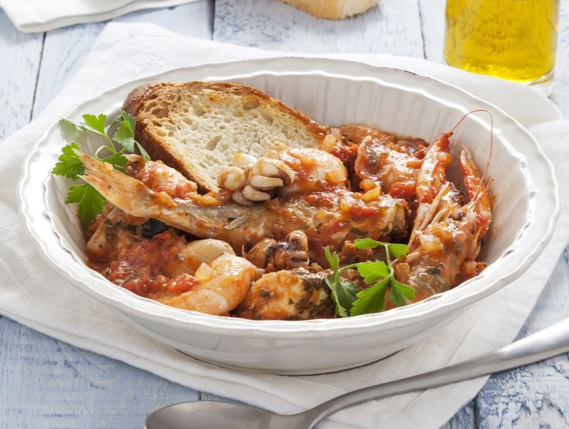 Brodetto all'anconetana: ricetta