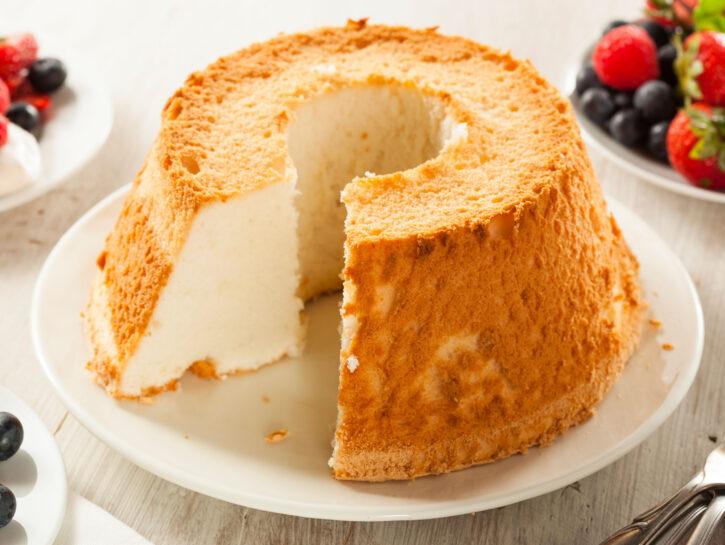 Angel food cake - Credits: Olycom