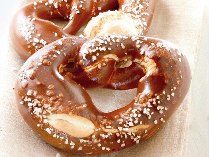 Bretzel o pretzel tedeschi alle noci