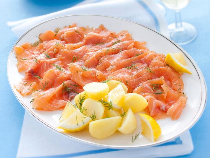 Gravlax: salmone marinato svedese