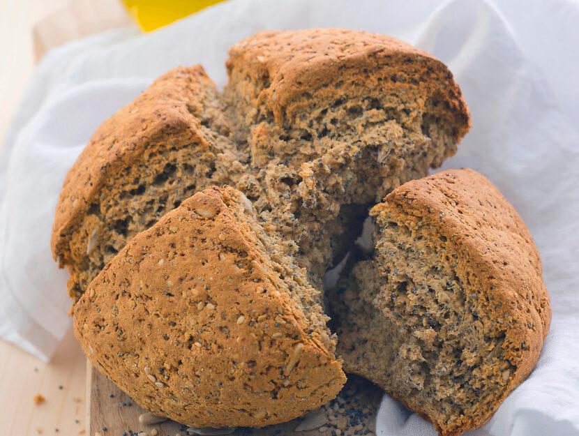 Soda bread con semi