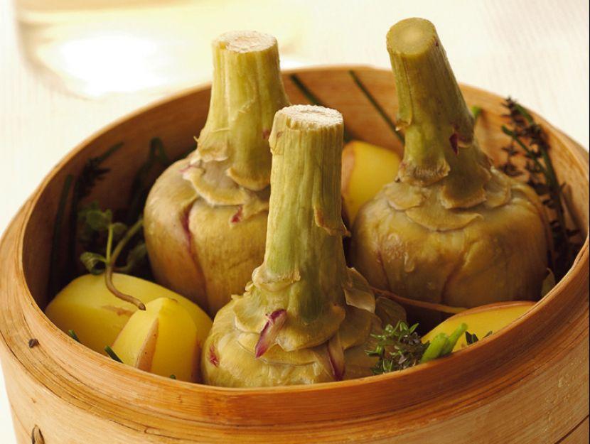 carciofi-e-patate-al-vapore