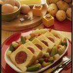 Cotechino in crosta di patate