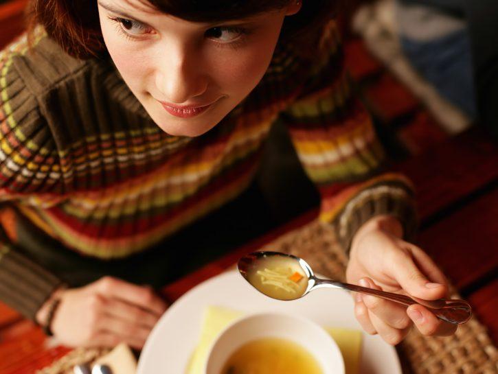Scaldarsi con le zuppe