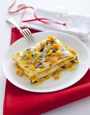 Lasagne con verdure invernali