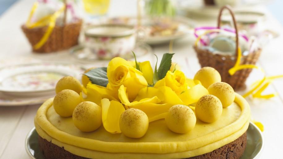 La tavola in giallo