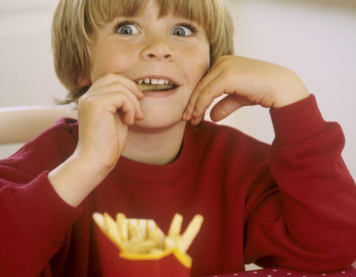 Alimenti no per i bambini